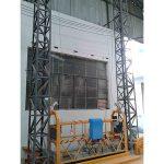 10 m platformă suspendată din aluminiu cu frânghie zip1000 o singură fază 2 * 2.2kw