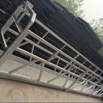 zlp630 / 800 ll aliaj de aluminiu, construcție de oțel suspendat platformă de lucru de ridicare pe ferestre de constructii