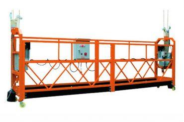 2.5mx 3 secțiuni 1000 kg platformă de acces suspendat viteză de ridicare 8-10 m / min