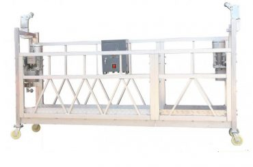 380v / 220v / 415v platforma de curățare a ferestrelor cu eficiență ridicată zip800 cu o singură fază