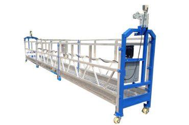 500 kg 2 m * 2 secțiuni din aliaj de aluminiu suspendat echipament de acces zlp500